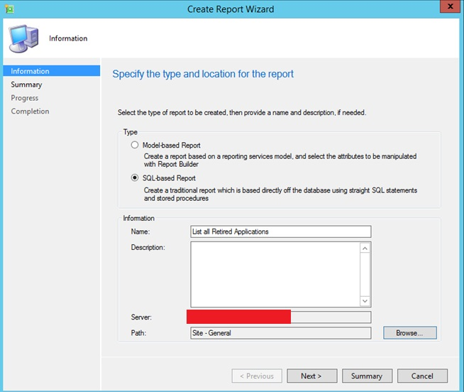 How To Create Custom Sql Based Reports In System Center  R