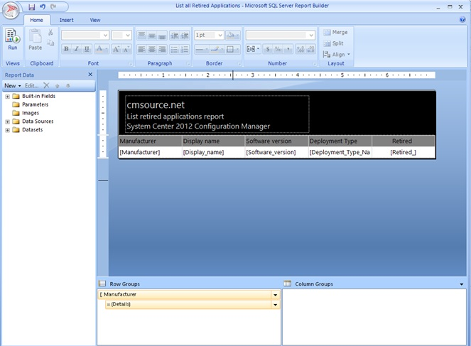 How to: Create custom SQL- based Reports in System Center